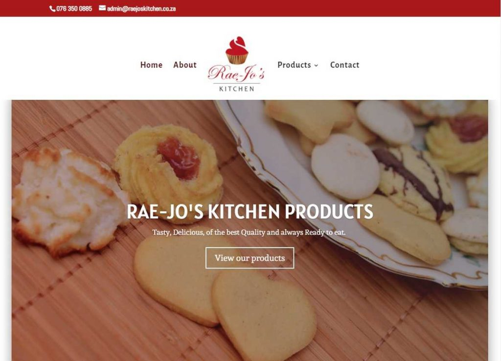 Rae-jo's kitchen Products