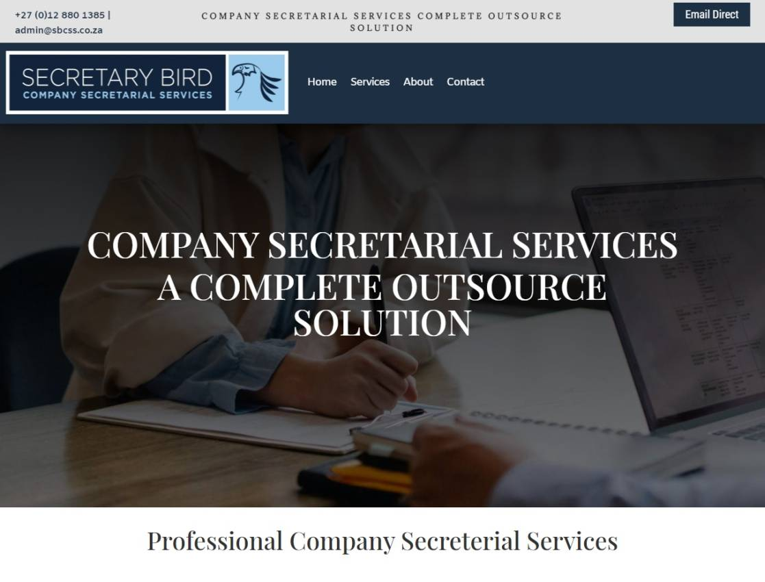 Compensation fund website designed by Vividly Grand Web Design