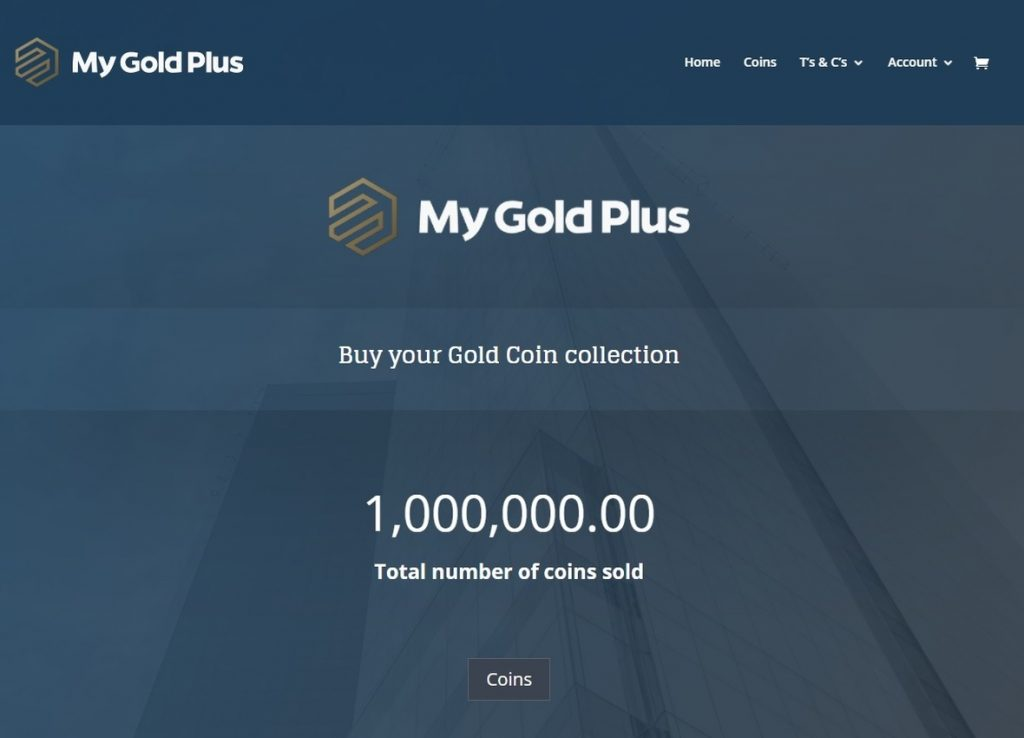 My Gold Plus Website designed by Vividly Grand Web Design